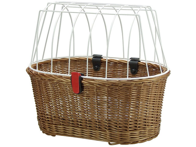 KlickFix Doggy Basket Korbklip, bast